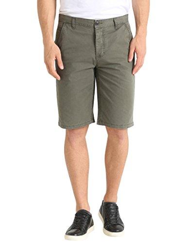 James Tyler Herren Shorts Chino Mehrfarbig (Grün/Khaki), 50 (Herstellergröße: 33)