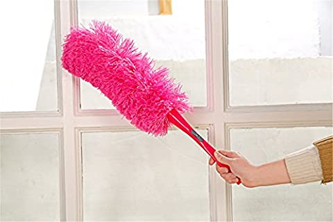 Elistelle Can Bent Reusable Micro Fiber Feather Duster Cleaner Cleaning Magical Soft Microfiber