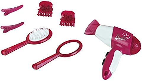 Klein - 5790 - Coiffure - Set de coiffure Barbie avec sèche-cheveux