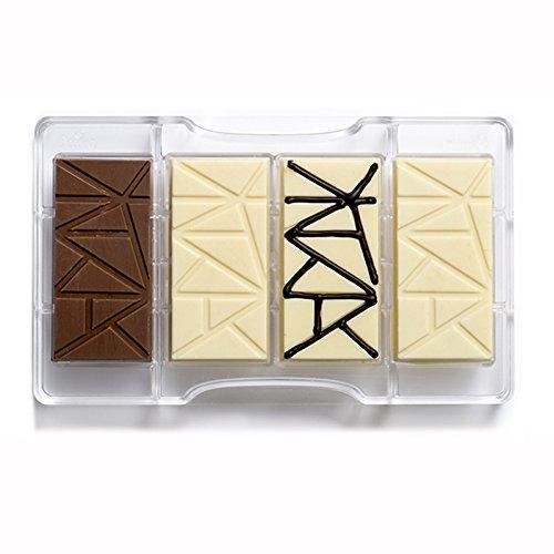 Decora 0050083 Molde Chocolate Tableta 200X120X22MM