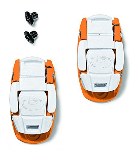 Sidi Caliper Buckle Pair, Orange/White by Sidi (Caliper Sidi)
