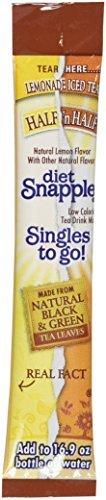 Snapple Half Lemonade n Half Iced Tea Singles to Go - 3 Boxes - 6 Packets Each