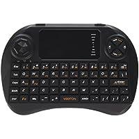 Goeco X3, 2,4 GHz, Mini tastiera Wireless con Touchpad Mouse con telecomando 3 in 1-Air (Wireless Handheld Dispositivo)