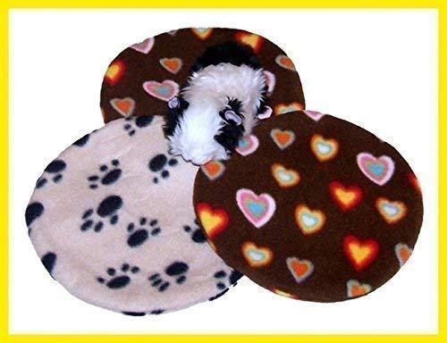 1 Ersatzbezug/Fleecebezug für das Snugglesafe Heizkissen/Wärmekissen für Meerschweinchen, Kaninchen, Hunde, Katzen, Haustiere, MIT VERSCHLUSS!