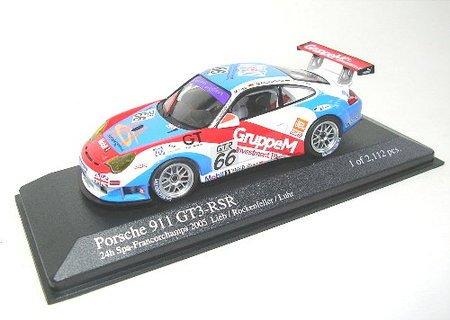 Minichamps - Vehicules - 400056466 - Porsche 911 GT3 RSR 1000KMS SPA Francorchamps 2005 Lieb - 1/43
