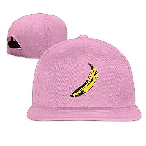 Banana Hip Hop Baseball Cap Adjustable Flat Brim Hat Outdr Sport Baseball Hat Unisex JH4170 - Nc-flat