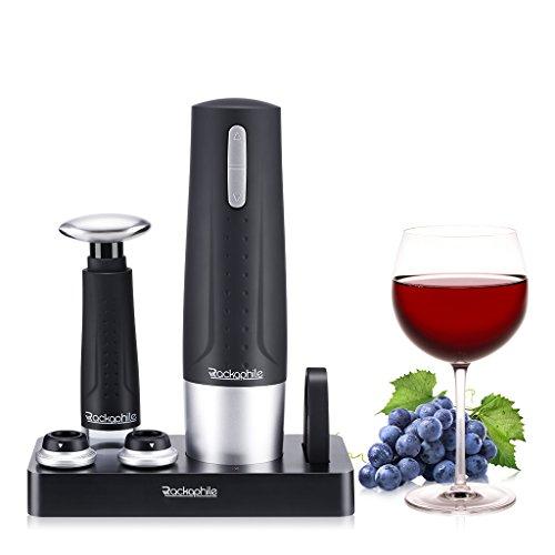 Rackaphile - Sacacorchos Eléctrico Inalámbrico, Abrebotellas de Vino