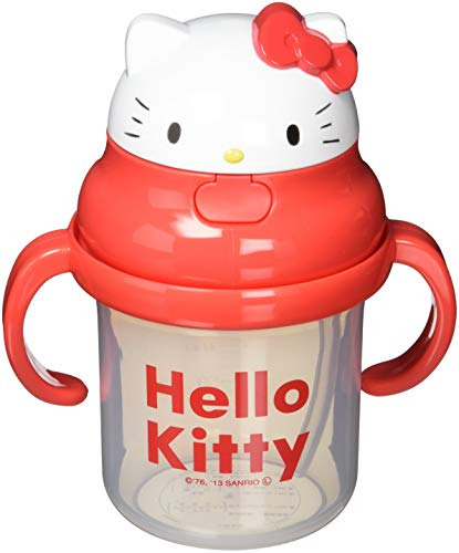 Straw hopper hands mug Hello Kitty KSH2D by Skater