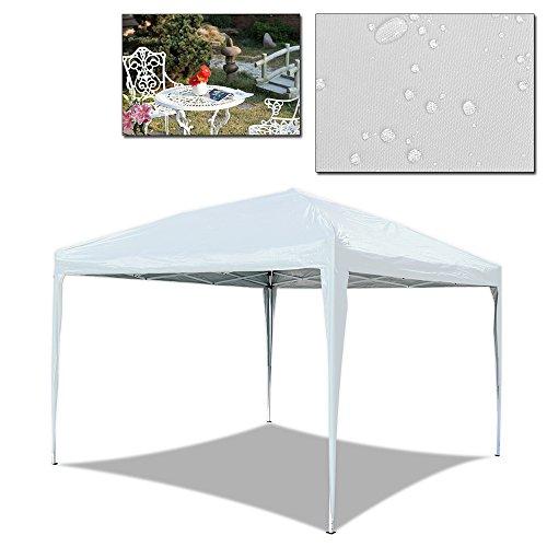 huigou HG 3x 3m Tonnelle Pliable Tente Pliante Tonnelle pavillon de Jardin Weiß