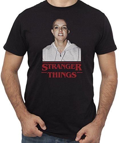 New indastria t-shirt britney stranger things eleven divertenti by uomo-l-nera