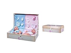 Rauber- Muñeco Recien Nacido mellizos, (2562)