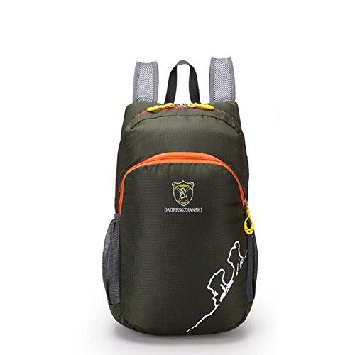 SZH&BEIB Faltbare Rucksack Wasserdichte Nylon Ultra Light für Outdoor Reit Tasche Klettern Wandern Wasser-Beutel D