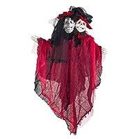 Euro Flora Halloween (cadılar Bayramı) Hayalet Çift Işıklı/Sesli 91 Cm