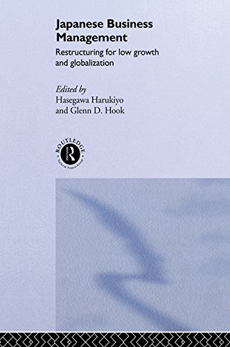 Japanese Business Management: Restructuring for Low Growth and Globalisation (The University of Sheffield/Routledge Japanese Studies Series) (English Edition)