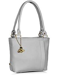 Fostelo Women's Diana Shoulder Bag (Grey) (FSB-949)