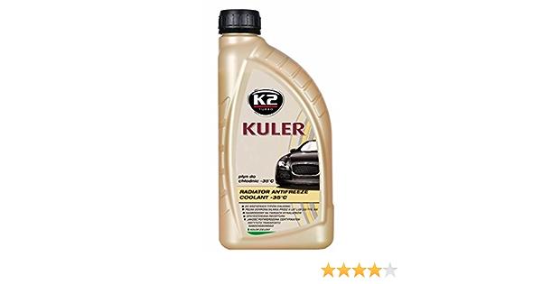 K2 Kühlerfrostschutz Fertiggemisch Long Life Farbe Grün Bis 35 C Kühlmittel Kühlflüssigkeit Frostschutzmittel Für Alle Automarken Geeignet 1l Auto