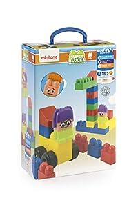 Miniland- Juego de contrucción para niños. (50.32336)