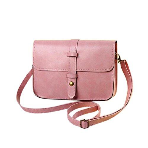 Goodtimes28, Borsa a tracolla donna Burgundy Pink