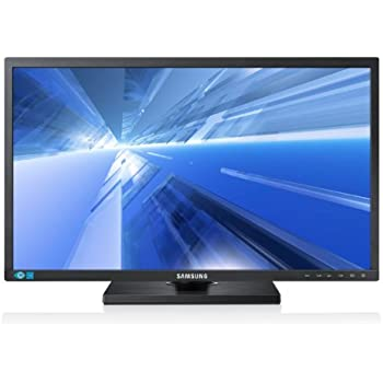 Samsung S24C650PL 61 cm (24 Zoll) LED-Monitor (VGA, HDMI, USB, Pivot, DisplayPort, 5 ms) schwarz