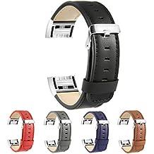 Fitbit Charge 2 Bracelet en Cuir, BeneStellar Remplacement Bracelet pour Accessorie de Fitbit Charge 2