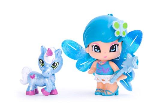 Pinypon-Poupe-et-Mini-poupe-Blister-1-Figurine-Fe-et-sa-Licorne-Bleu