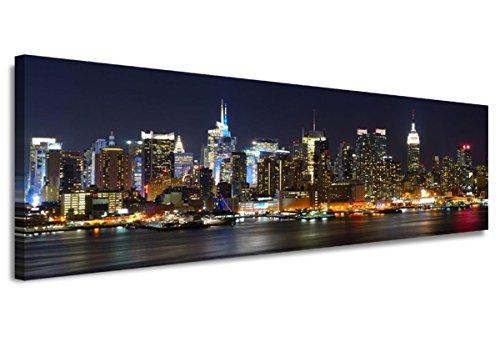 120-x-40-cm-Bild-auf-Leinwand-New-York-USA-5715-SCT-deutsche-Marke-und-Lager-Die-Bilder-das-Wandbild-der-Kunstdruck-ist-fertig-gerahmt