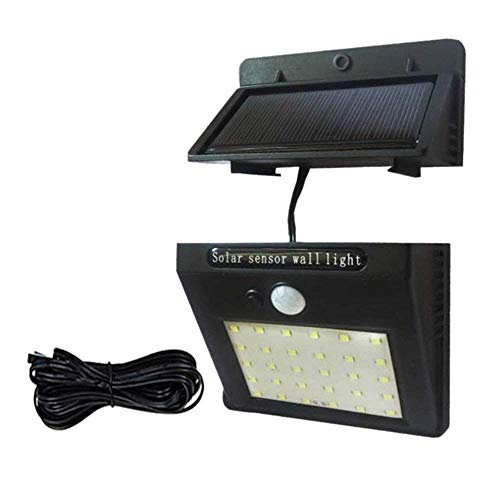 Solar Split Garden Light Led Solar Lampe Motion Sensor Wasserdichte Außenbeleuchtung Beleuchtung Beleuchtung Separate Wireless Wall Lampe Split 30LED