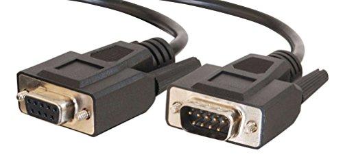 CABLESTOGO Cables to Go 81380 Verlängerungskabel (DB9, Stecker auf Buchse, 7m) schwarz Hdmi-serielles Kabel