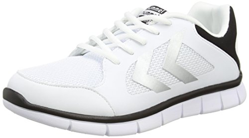 HummelHUMMEL EFFECTUS FIT - Scarpe sportive indoor Unisex – adulto Bianco (Weiß (White 9001))