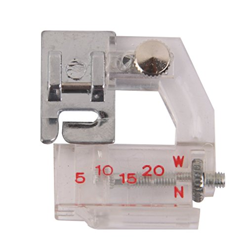 Imported Adjustable Bias Binder Presser Foot For Sewing Machine  available at amazon for Rs.170