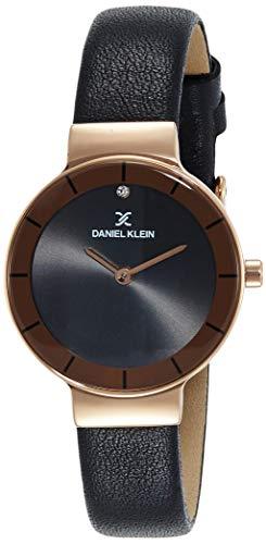 Daniel Klein Analog Black Dial Women's Watch-DK11728-7