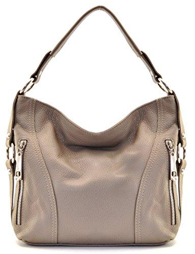OH MY BAG Sac à Main femme en cuir italien porté épaule - Modèle S - nouvelle collection 2018