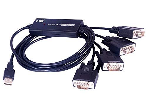 PremiumCord USB 2.0 bis 4 x RS232C (Gps-usb-kabel Magellan)