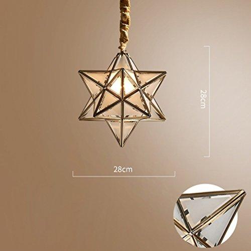 Preisvergleich Produktbild YY Star Kronleuchter Einfache Amerikanische Kupfer Schlafzimmer Licht Bar Taiwan Xuanguan Balkon Lampe Kreative Persnlichkeit Korridor Lampen, EIN