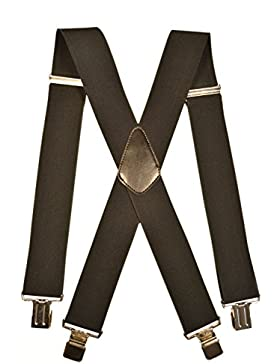 Tirantes XXL Extra Ancho 'X-Forma' (50mm), Totalmente Ajustable