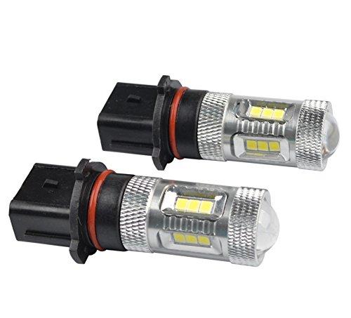 RunQiao 2 (15 × P13W PSX26W SH23W 12277)-Lampadina a LED (con Chip) per SAMSUNG nebbia fari marcia diurna LED con fari marcia diurna