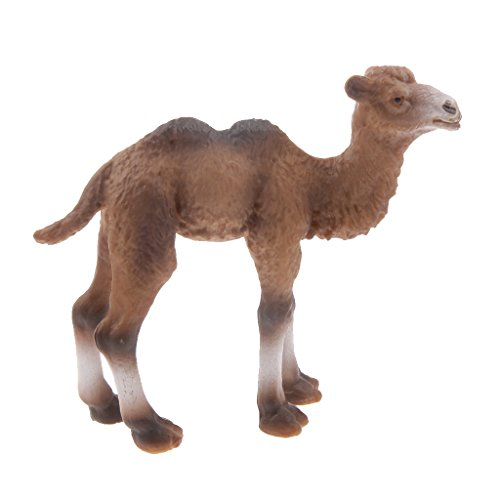 Tierfiguren Modell Spielzeug - Kamel Modell - Kinder Geschenk 7,5 x 2 x 6,5 cm