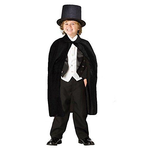 Dazzling Toys - Kinder Umhang für Zauberer mit (Kostüm Kinder Zauberer)