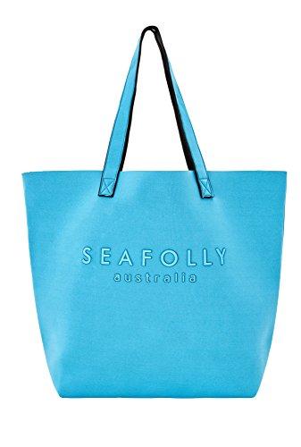 Seafolly Sac de Plage Bleu Ciel Luxe Tote