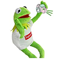 ZN Street The Muppet Show Kermit Frog Puppets Plush Toy Doll Stuffed Toys A Birthday Present for Your Child Educational Gift