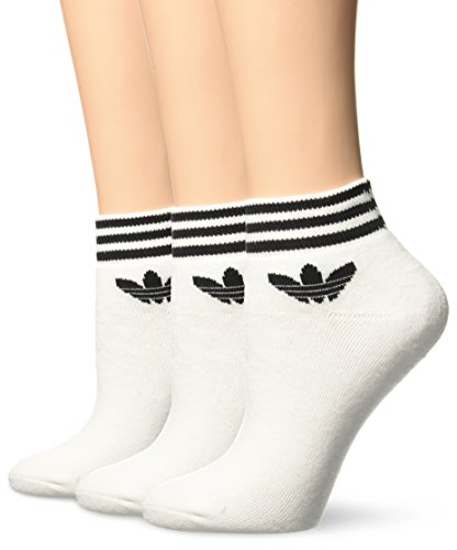 adidas Herren Trefoil Socken, 3er pack, White, 43-46 cm