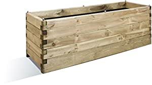 Jardinière en bois Oléa rectangulaire 150