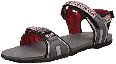 Puma Men's ZoomDP Steel Grey, Grey Violet and High Risk Red Athletic and Outdoor Sandals - 3 UK/India (35.5 EU) (18937805)