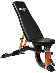 MiraFit Banc Réglable de Musculation Robuste 260kg