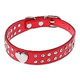 Manyo Halsband für Hunde und Katzen, Glitzer-Haustier-Halsband, verstellbar,