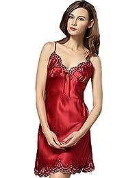 new style 3719f 3bf39 Suchergebnis auf Amazon.de für: ROTE - Seide / Nachthemden ...