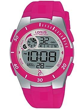 Lorus Watches Unisex-Armbanduhr Novak Djokovic Foundation Digital Quarz Kautschuk R2383KX9