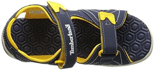 Timberland Active Casual Sandal Ftk_adventure Seeker 2 Strap Sandal, Sneakers basses mixte enfant Bleu (Blue)