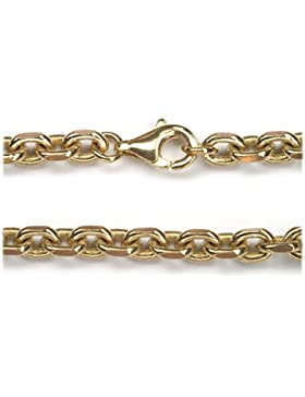 Halskette Bronze diverse Längen 4mm Stärke, Wikingerschmuck Kette Bronzekette