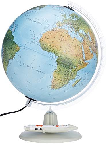 Parlamondo II: Interaktiver Globus mit Doppelbild (Interaktiver Globus mit Hörstift)